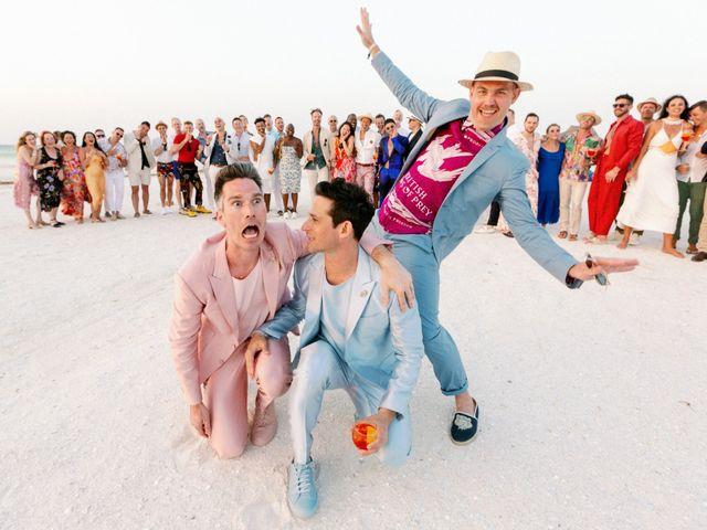 Jon and Tom's Wedding in Holbox Island, Mexico 62