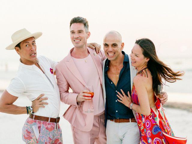 Jon and Tom's Wedding in Holbox Island, Mexico 64