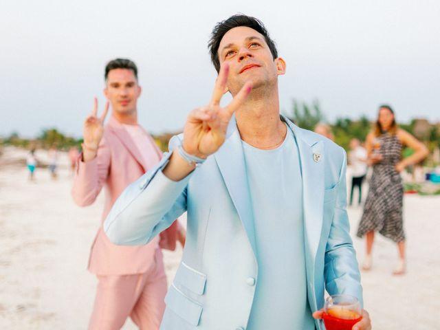 Jon and Tom's Wedding in Holbox Island, Mexico 67