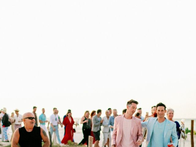Jon and Tom's Wedding in Holbox Island, Mexico 69