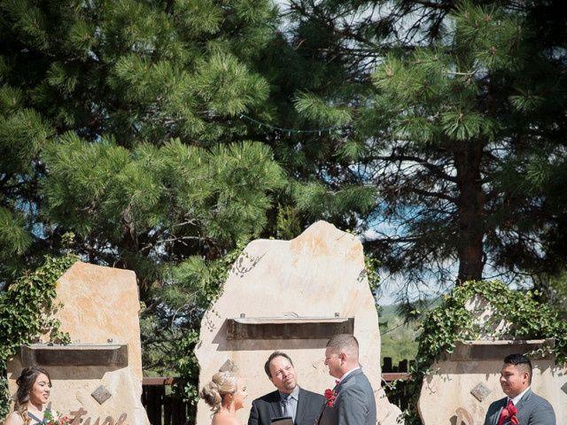 Victoria and Justin's Wedding in Tijeras, New Mexico 11