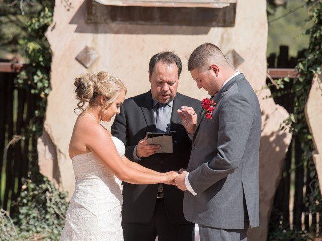 Victoria and Justin's Wedding in Tijeras, New Mexico 17