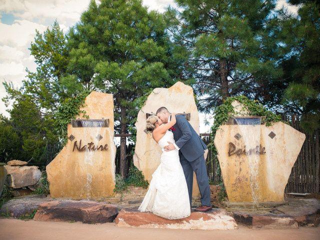 Victoria and Justin's Wedding in Tijeras, New Mexico 1