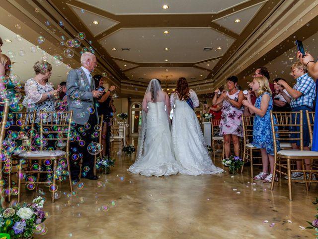 Jennifer and Julie's Wedding in Castleton on Hudson, New York 18