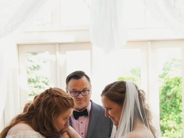Jennifer and Julie's Wedding in Castleton on Hudson, New York 20