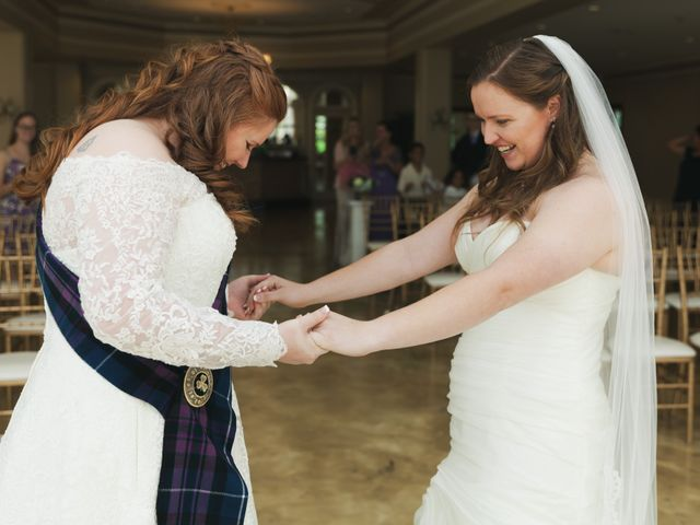 The wedding of Julie and Jennifer