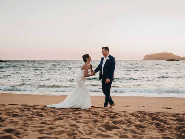 Luke and Lauren's Wedding in Bahias De Huatulco, Mexico 4