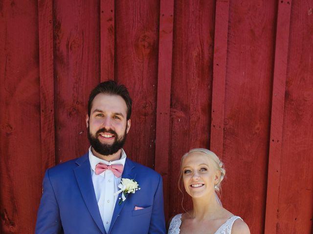 Alisa and Rob's Wedding in Rome, Pennsylvania 5