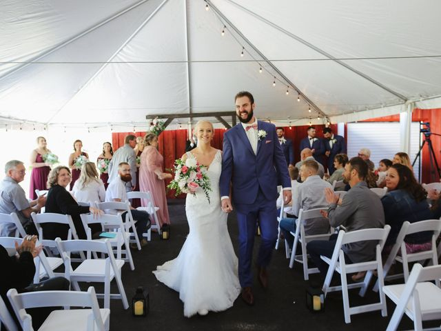 Alisa and Rob's Wedding in Rome, Pennsylvania 7