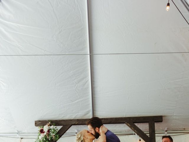 Alisa and Rob's Wedding in Rome, Pennsylvania 8