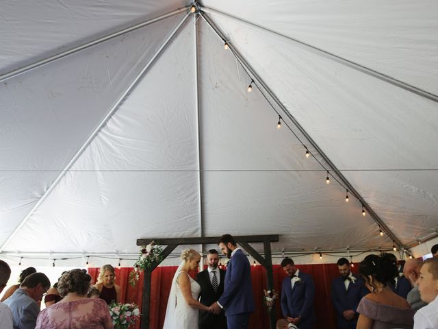 Alisa and Rob's Wedding in Rome, Pennsylvania 9