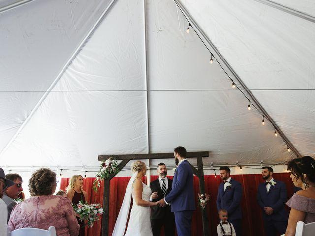 Alisa and Rob's Wedding in Rome, Pennsylvania 10