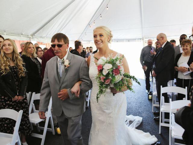 Alisa and Rob's Wedding in Rome, Pennsylvania 12