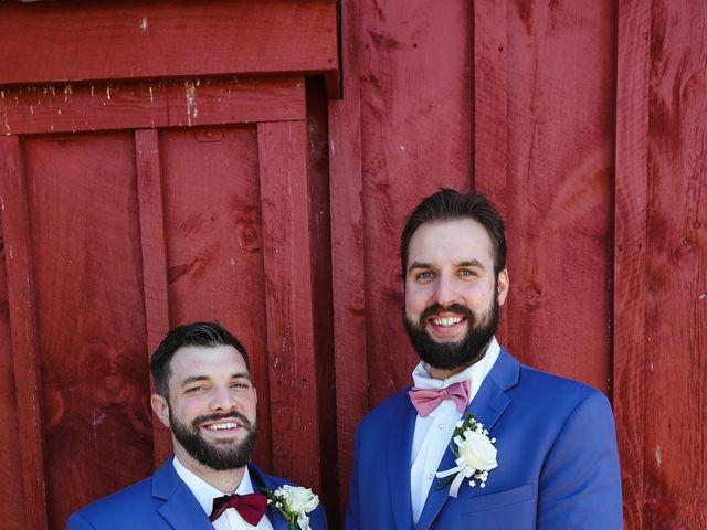 Alisa and Rob's Wedding in Rome, Pennsylvania 22