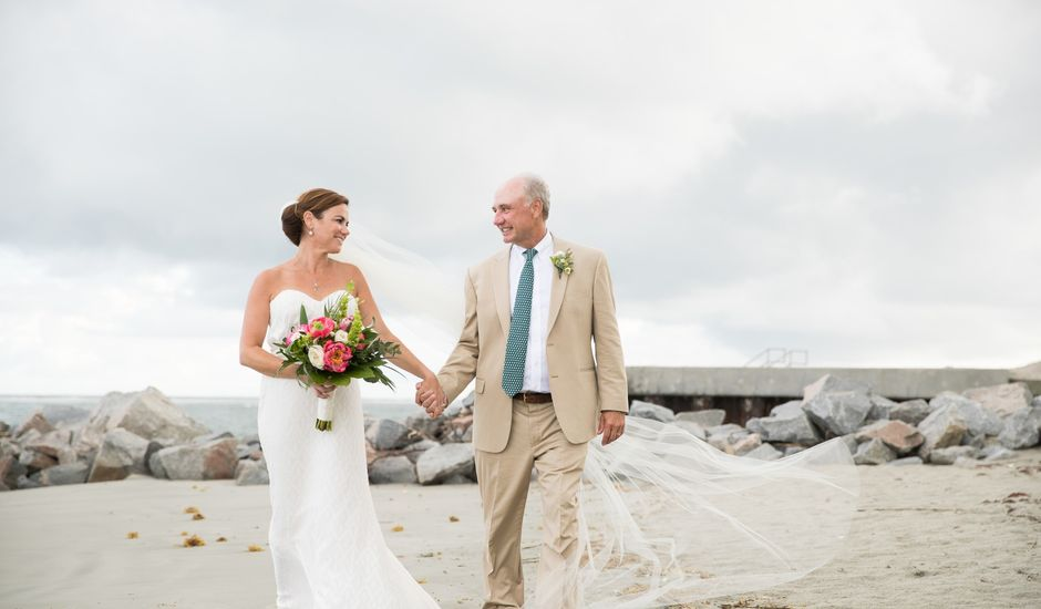 Thomas and Amie 's Wedding in Sullivans Island, South Carolina