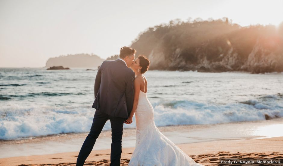 Luke and Lauren's Wedding in Bahias De Huatulco, Mexico