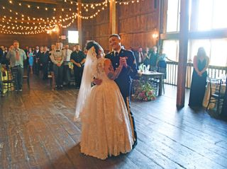 The wedding of Hannah and Frank 1