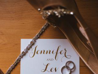 The wedding of Jennifer and Lev 1
