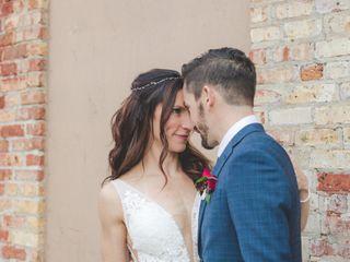 The wedding of Kristin and C.J. 1
