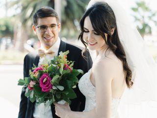 The wedding of Isabella and Moran