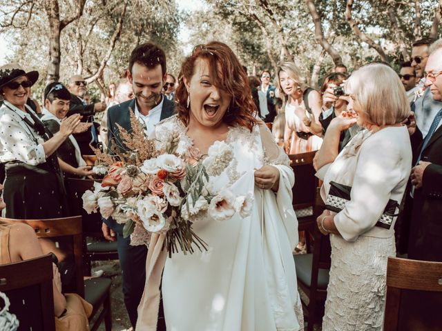 The wedding of Fanny and Stephane