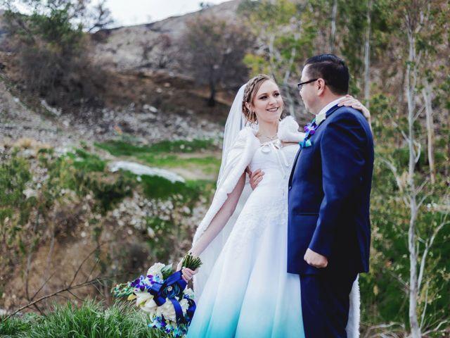 The wedding of Stephanie and Moi