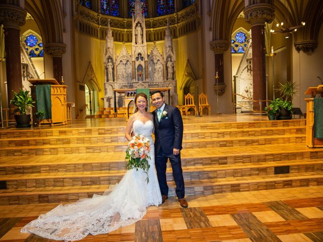The wedding of Anne and Sergio