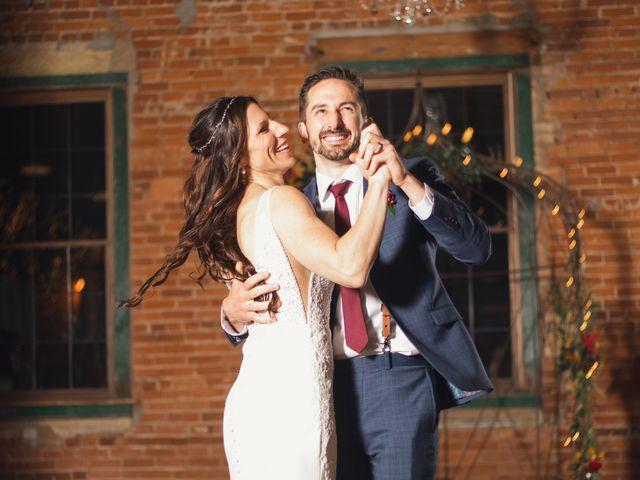 The wedding of Kristin and C.J.