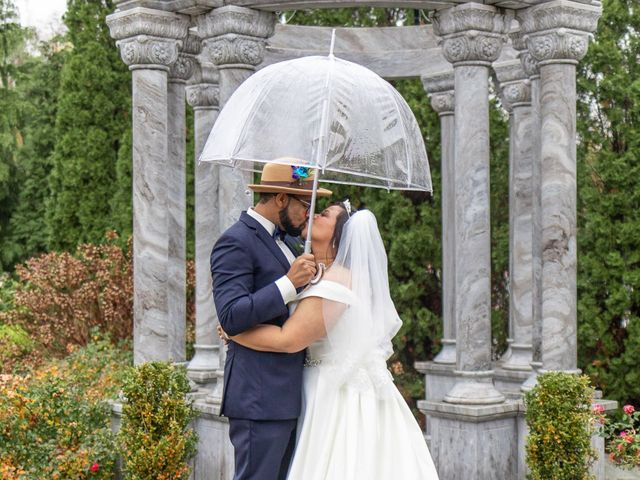 The wedding of Tiffany and Ken