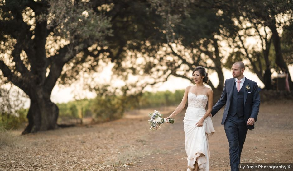 Kevin and Deirdre's Wedding in Kenwood, California
