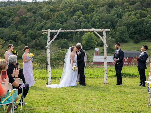 Alexandre and Gina's Wedding in Andes, New York 6