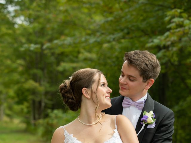 Alexandre and Gina's Wedding in Andes, New York 9
