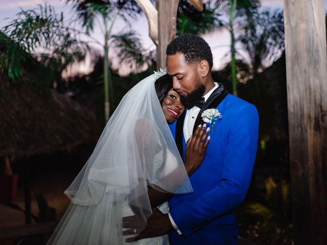 The wedding of Nickeisha and Troy
