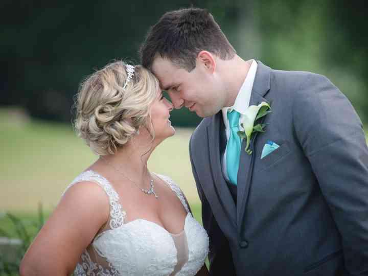 The wedding of Miranda and Keith