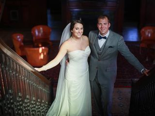 The wedding of Keith and Christine