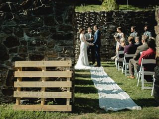 Andrew and Mandie's Wedding in Chester Springs, Pennsylvania 3
