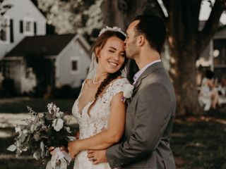 The wedding of Matt and Michaela
