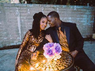 The wedding of Afrika and John