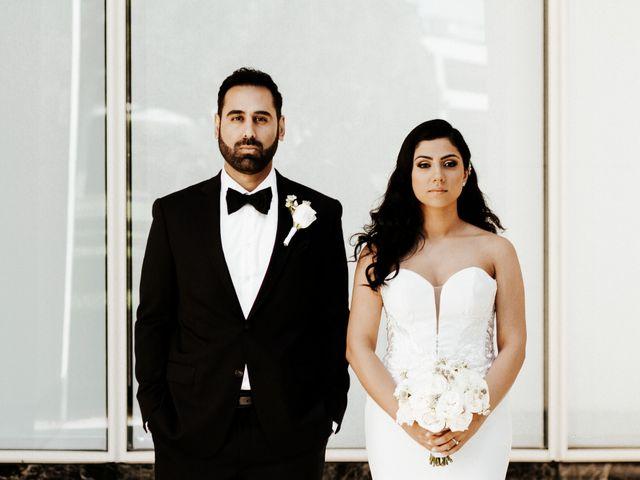 The wedding of Aisan and Keon