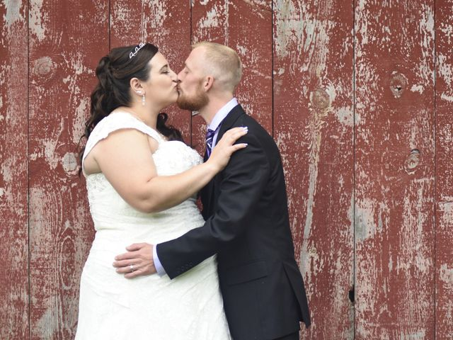 The wedding of Tina and Zach
