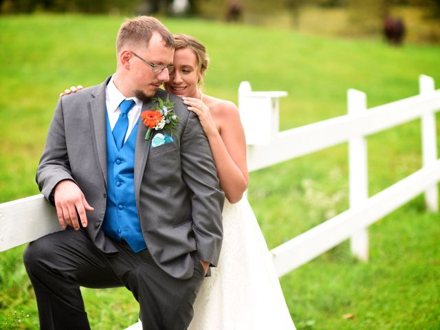 The wedding of Jessica and Justin