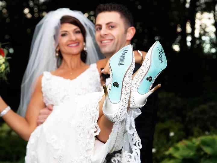 The wedding of Cassandra and Matthew