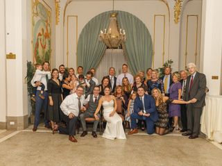 The wedding of Alissa and Matt 2