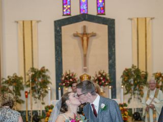 The wedding of Alissa and Matt 1
