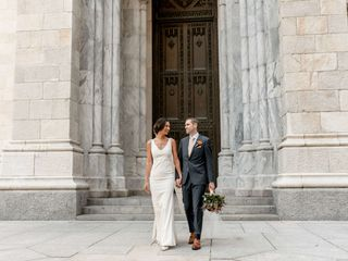 The wedding of Kathryn and Stephan