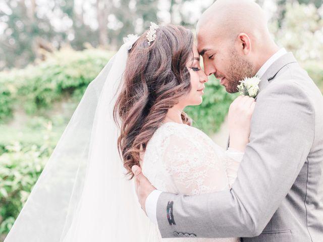 The wedding of Michaela and Jesse