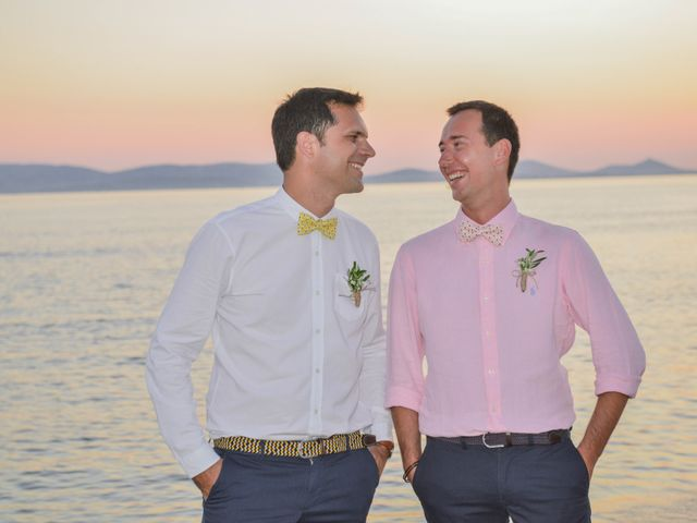 The wedding of Nicolas and Mathieu