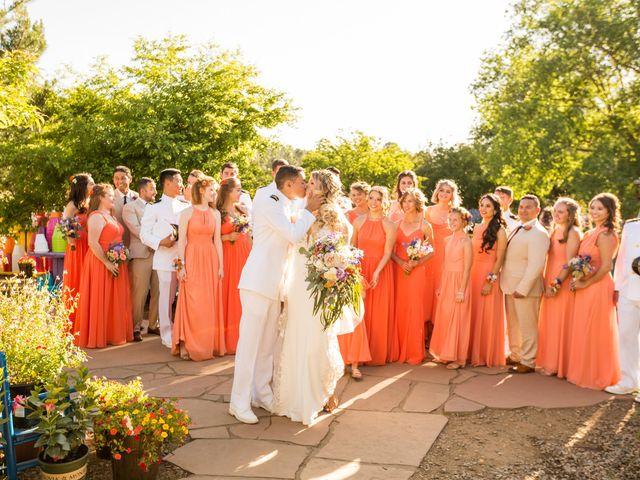 Ruben and Hannah's Wedding in Flagstaff, Arizona 18