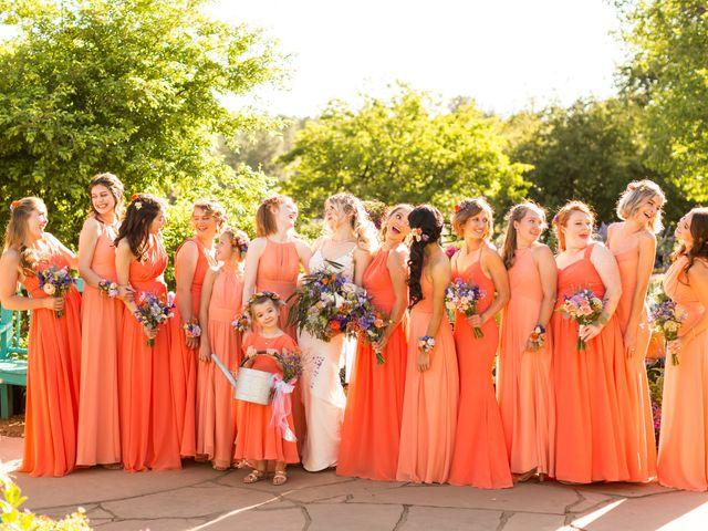 Ruben and Hannah's Wedding in Flagstaff, Arizona 19