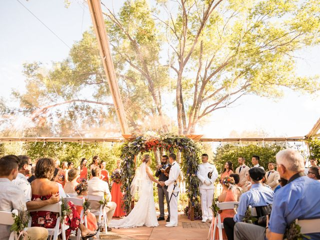 Ruben and Hannah's Wedding in Flagstaff, Arizona 27